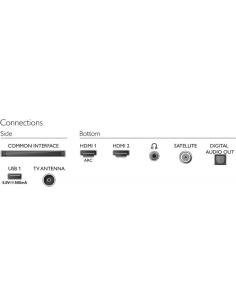 Teclado inalámbrico logitech wireless touch blanco keyboard k400 plus - multimedia - para tv conectados a pc - alcance 10m -
