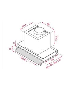 Teclado y ratón inalámbricos hiditec km400 pro wireless - ratón 1200dpi avago a3000 - nano receptor usb - negro