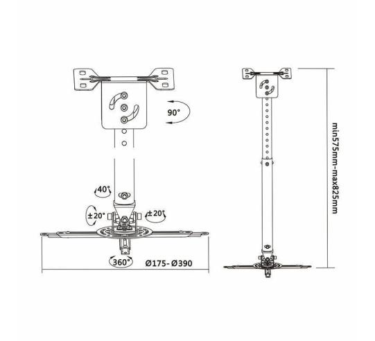 Cartucho de tinta original canon cli-42 multipack