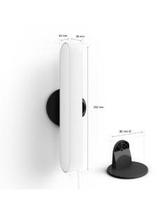 Reloj despertador oregon rm-938 - tribanda (eu/uk/us) - dígitos gran formato - alarma dual - tamaño especial viaje - 2*aaa