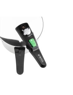 Ventilador de pie jata vp3032 - 50w - 3 aspas - 3 velocidades - altura regulable (hasta 130cm) - oscilación automatica - base