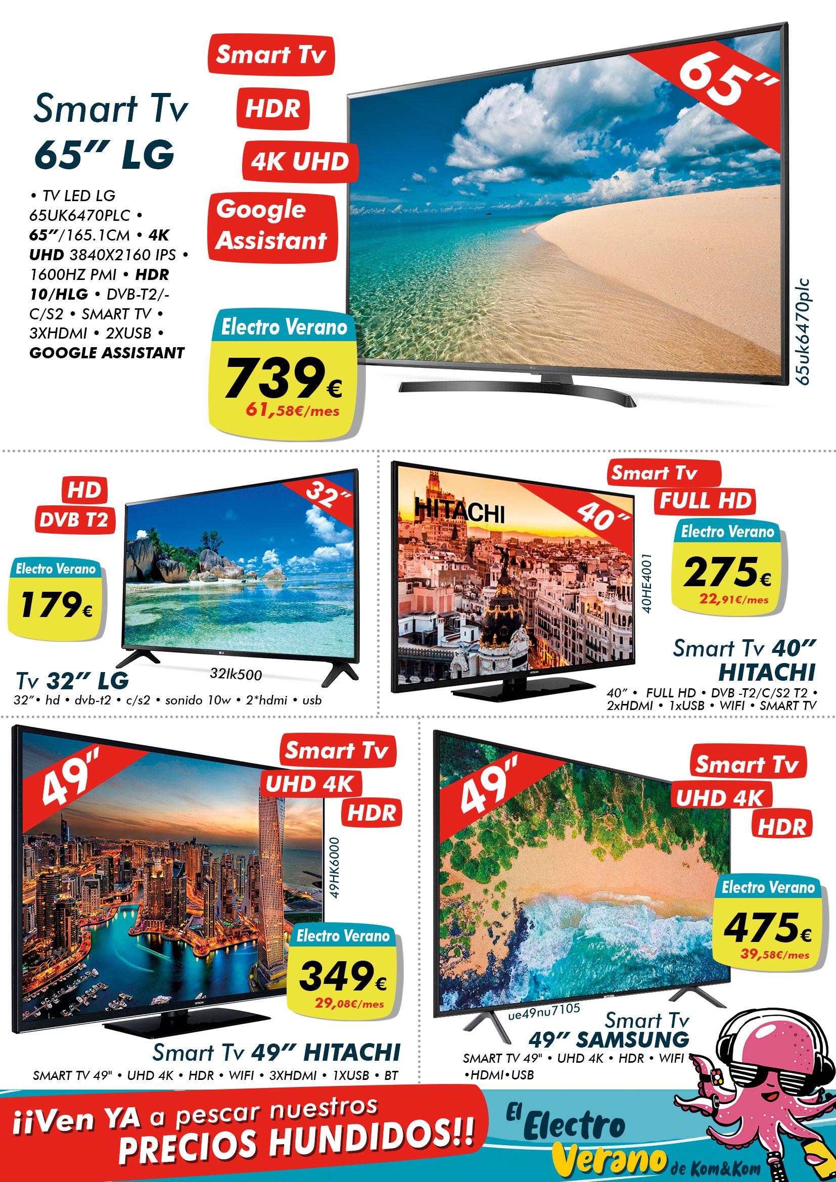 Las Televisiones del Electro Verano de Kom&Kom