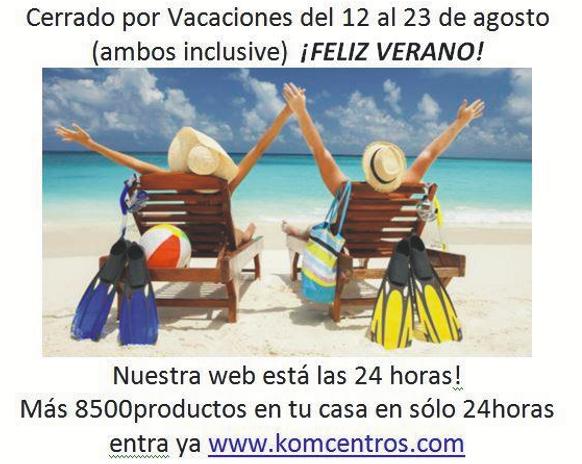 vacaciones verano 2017 kom&kom yecla.